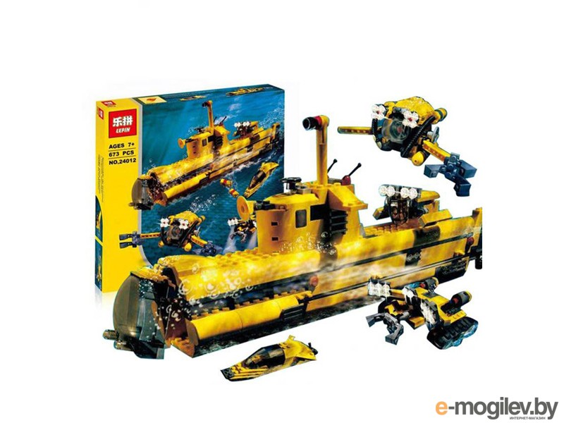 Конструкторы Lepin Techini Исследователи Морей 673 дет. 24012