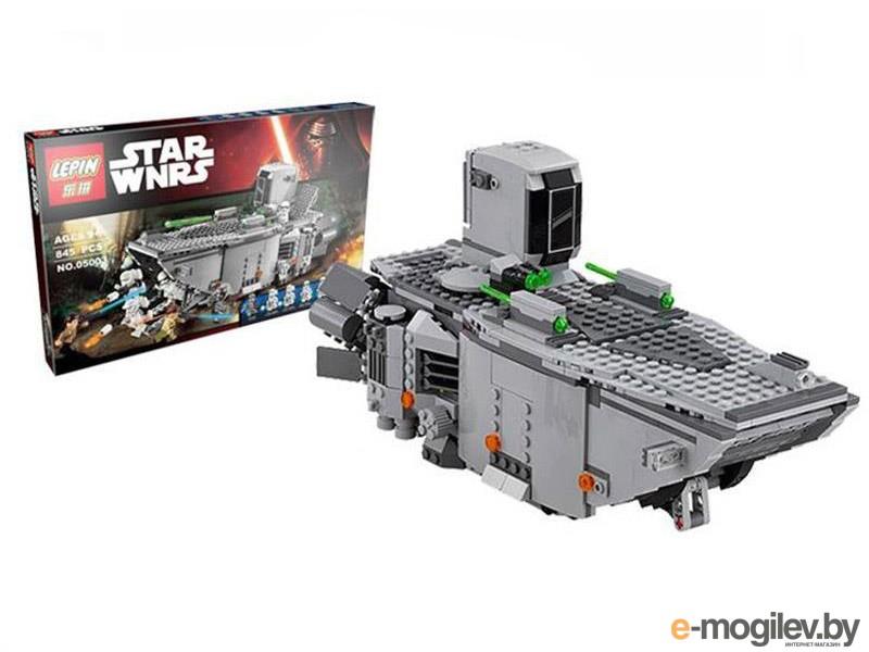 Конструкторы Lepin Star Wars Транспорт Первого Ордена 845 дет. 05003