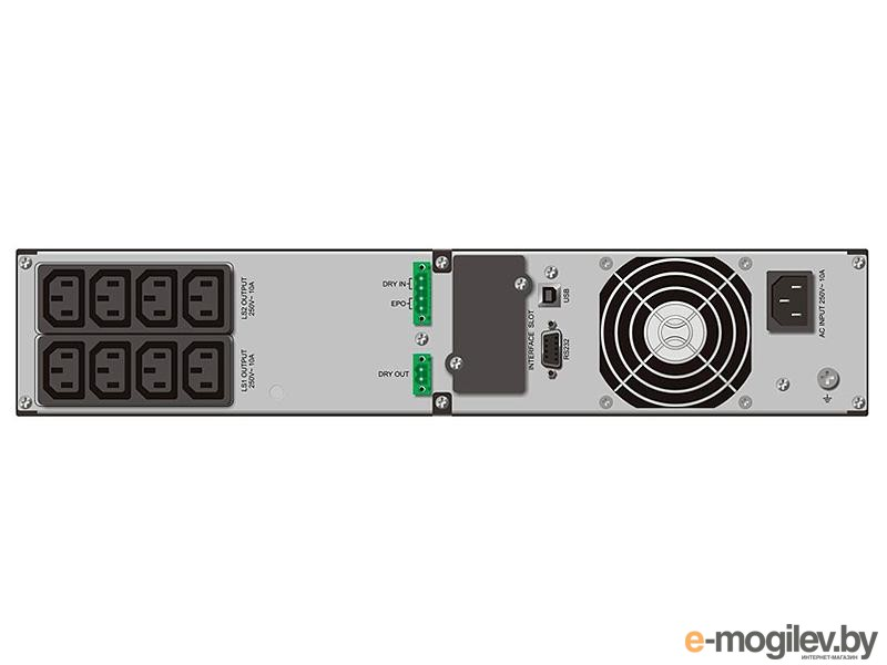 ИБП PowerWalker VFI1500RT LCD 8*IEC RackMount
