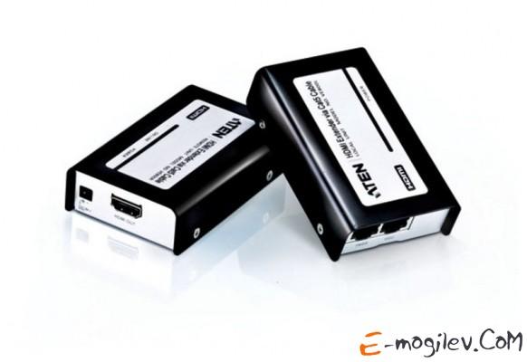 HDMI Aten 60 метр., HDMI+2xRJ45, F, без шнуров, 2xБ.П. 220> 5V, (по витой паре;до 1920x1200 60Hz;HDTV 480p/720p/1080i/1080p (VE800-A7-G)