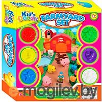 Игровой набор с пластилином Kids Toys Ферма 11740