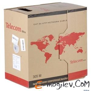 Telecom Ultra UTP кат.5е многожильный (бухта 305м), синий p/n: TUM34702E-BL