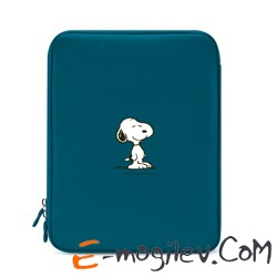 iLuv для  iPad4/iPad3/iPad2 Peanuts Sleeve Snoopy blue (iCC2013SBLU)