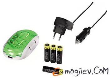 Delta Plus для 2/4 аккумуляторов AA/AAA+4 аккумулятора Ready for Power AA/2100 м