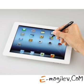 Стилус Hama H-107827 Slim-Stylus для Apple iPad силиконовый наконечник черный