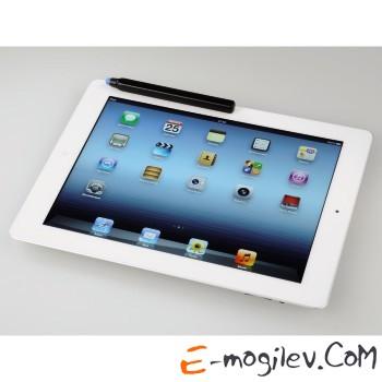 Стилус Hama H-107849 магнитный для Apple iPad 2 съемных силиконовых наконечника черный+синий черный