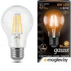 Светодиодная лампа Gauss E27 6Вт 2700К [102802106]