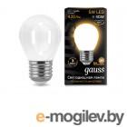 Gauss LED Filament Globe Opal E27 5W 2700K 105202105