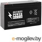 Батарея для ИБП Security Power SP 6-12 6V/12Ah