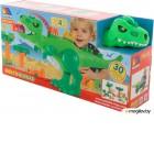 Игровой набор Полесье Динозавр с конструктором / 67807 (30эл, в коробке)