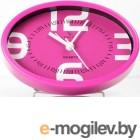 Будильник Пробуждение гарантировано Вега 7706 розовый 12x3.9x8.2 см
