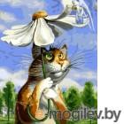 Картина по номерам Picasso Петербургские коты. Гадание на ромашке. PC4050302
