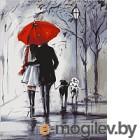 Картина по номерам Picasso Прогулка под красным зонтом PC4050237