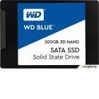 SSD диск Western Digital Blue 3D NAND 500GB (WDS500G2B0A)