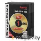 Коробка Hama H-51181 Slim для DVD 10 шт пластик черный