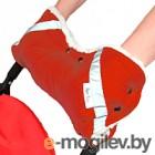 Муфта для коляски BamBola Красная 053В