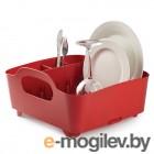 Чистота и порядок Сушилка для посуды Umbra Tub Red 330590-505