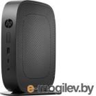 Тонкий Клиент HP Flexible t530 slim GX-215JJ (1.5)/4Gb/SSD8Gb/R2E/HP Smart Zero 32/GbitEth/WiFi/BT/65W/клавиатура/черный
