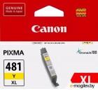 Картридж CANON CLI-481XL Y Yellow