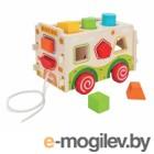 Деревянные игрушки Mapacha Сортер Машинка 76655