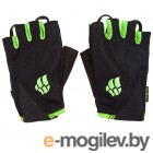 Mad Wave Mens Training Gloves L Black-Green M1397 11 6 10W