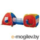 Детская игровая палатка Calida Конус/Квадрат/Туннель 629S (+ 100 шаров)