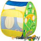 Детская игровая палатка Calida Дом + 100 шаров Бейсбол (домик + бейсбол) 661