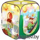 Детская игровая палатка Calida Дом + 100 шаров Путешественники 707