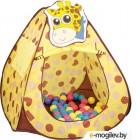 Детская игровая палатка Ching Ching Жираф CBH-11 (+ 100 шаров)