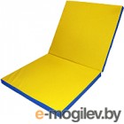 Аксессуар для спортивного комплекса No Brand Складной 2x1x0.1м (синий/желтый)