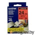 Brother TZ451 black 24mm