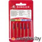 Aксессуары для швейного оборудования Набор игл Singer 70-100 130/705H 10шт 2020 823R