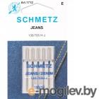 Набор игл для джинсы Schmetz 100 130/705H-J 5шт
