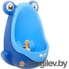 Детский писсуар Roxy-Kids С прицелом синий с голубым RBP-2129
