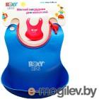 Нагрудник детский Roxy-Kids Мягкий синий RB-401