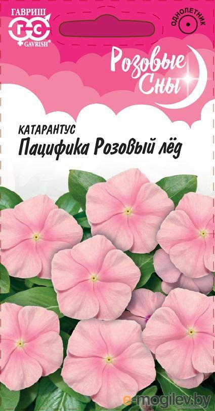 Катарантус Пацифика Розовый лед* 7 шт. серия Розовые сны