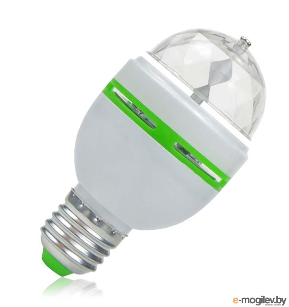 Все для праздника Светодиодная диско лампа Espada E-ED27-3W