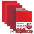 Рукоделие Brauberg Фетр А4 210x297mm Red 660642