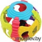 Развивающая игрушка Playgro Мячик-погремушка Занимательный шар 4083681