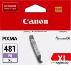 Картридж Canon CLI-481XL PB EMB для TS8140/TS9140. Фото голубой. 1660 страниц.
