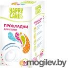 Прокладки для груди Happy Care 60 шт. 110-60
