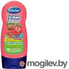 Детский шампунь Bubchen для мытья волос и тела Мишкина малина 230 мл 12216291