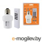 Комплект для беспроводного управления освещением ПУ3-П1.1-Е27 (1 приемник) Уютный дом TDM