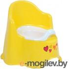Детский горшок Dunya Комфорт 11111 (желтый/оранжевый)