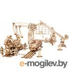 Сборная модель Ugears Манипулятор на рельсах