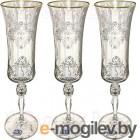 Набор бокалов для шампанского Bohemia Grace 40792/Q8982/190 6шт