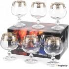 Набор бокалов для бренди Bohemia Claudia 40149/250 6шт