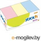 Cамоклеящийся блок 38*51, 100л, 3 пастельных цвета, STICK