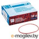 Резинки для купюр Alco 733 диаметр 50мм 50г ассорти картонная упаковка