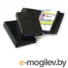 Визитница на 200 карт Durable, PVC, черная